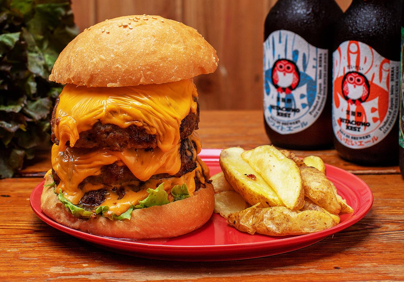 チーズとろとろバーガー